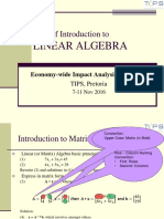 P010 - Presentation on Intro to Matrix Algebra in XLS