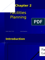 2.1 Facilities Planning