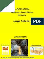 Presentacion Puestas a Tierra - Prof. Jorge Salazar A