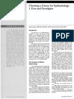 Susser 1996 Eras and Paradigms