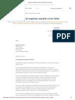 Mechanical Engineer Sample Cover Letter _ Career FAQs