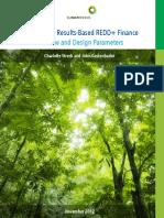 Standards for Results-based REDD Finance - 2012 - Climate Focus