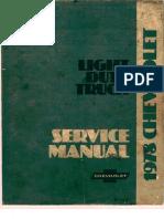 1978 Chevrolet Truck Service Manual
