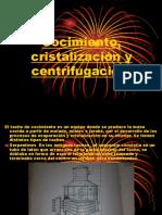 Cocimiento Cristalizacion y Centrifugacion