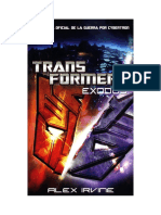 Transformers Exodus - The Official History of the War for Cybertron