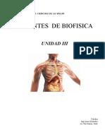Teorico Biofisica - III