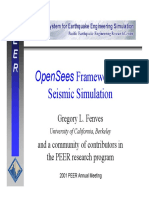 Fenves - OPEN SEES Framework for seismic simulation.pdf