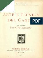 Magrini Arte Tecnica Can To