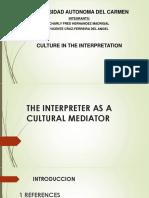 Interpreter as a Cultural Mediator