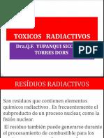 Toxicos Radioactivos d 18