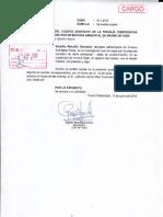 Erasmo Sumalave Pérez -Agraviado solicita a Fiscalía Ambiental copias de la carpeta de investigación