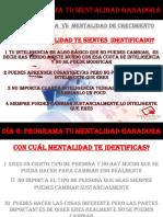 Día 6 PDF 6 Mentalidad