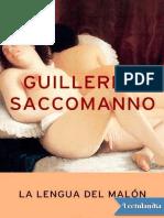 La Lengua Del Malon - Guillermo Saccomanno PDF