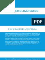 6. El Poder Oligárquico (1)