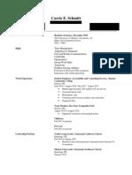 carrie schmitt resume