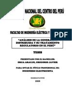Análisis de La Generación Distribuida en el Perú