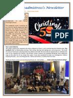 Newsletter No 59 - 7th December 2018