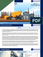 Pakistan Cement Industry
