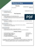 wberg website resume