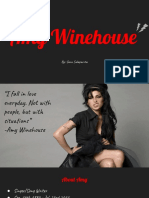 artist presentation  amy winehouse