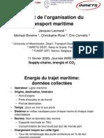 Leonardi - Impact du transport Maritime