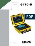 Aemc 6470 b Manual