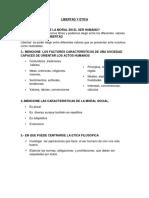 Bioetica-cuestionario Primer Parcial Monica