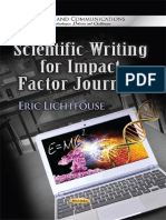 Higlight Scientific Writing for Impact Factor Journals