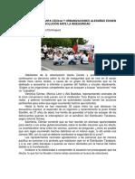 Vecinos de Santa Cecilia y Urbanizaciones Aledañas Exigen Solución Ante La Inseguridad