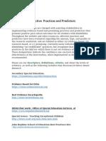 jigsaweffective practices and predictors