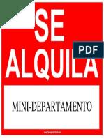 Mini Departamento
