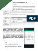 Android Con Acceso a Base de Datos Mysql