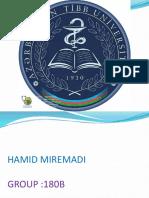 Local Anestetic-free Work of Pharma Hamid