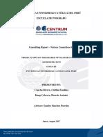 Consulting Report - Natura Cosmeticos