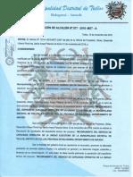 RESOLUCION DE ALCALDIA N°077-2018-A