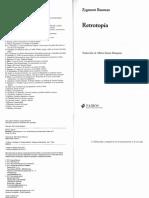Bauman- Retrotopía introducción.pdf