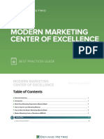 Modern Marketing Center of Excellence Best Practices Guide