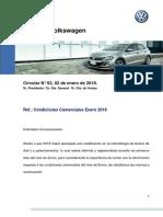 Condiciones comerciales VW