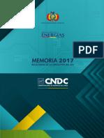 Cndc Memoria 2017