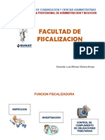FACULTAD DE FISCALIZACION