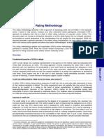 Corporate Credit Rating, Methodology