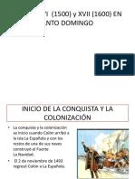 El Siglo Xvi (1500) y Xvii