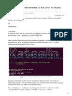 Edivaldobrito.com.Br-Como Instalar as Ferramentas Do Kali Linux No Ubuntu Com o Katoolin