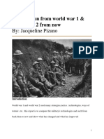 world war report freshman