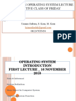 Operating system introduction