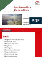Tema 2 - Origen Formacion y Transformacion de La Tierra