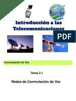 Redes de comunicación de voz
