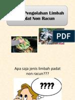 Pengolahan limbah racun dan non racun