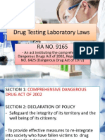 Drug Testing Laboratory Laws