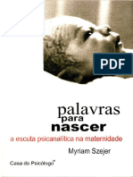 Palavra Para Nascer - MYRIAM SZEJER